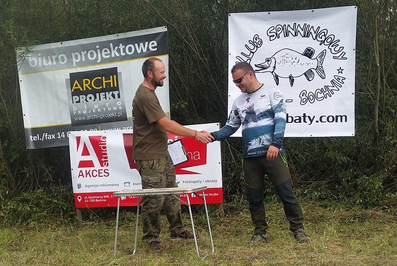 IV miejsce Zębaty - Marcin