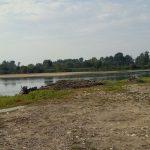 miejsce zbiórki - piękne rozlewisko w miejscowości Pawłów