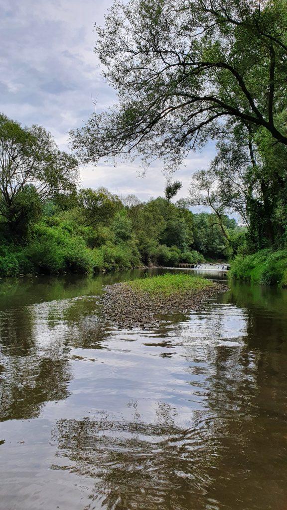 piękna woda na Stradomce